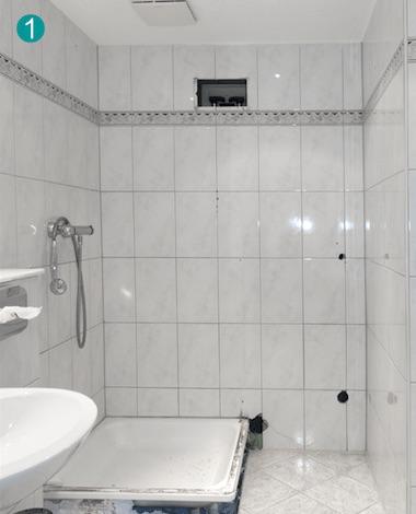 Vorher Nachher Duschsanierung